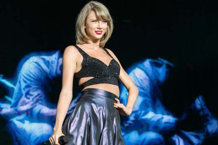 Taylor Swift's (above) film crew allegedly drove a dozen vehicles onto a beach that is home to an endangered bird.