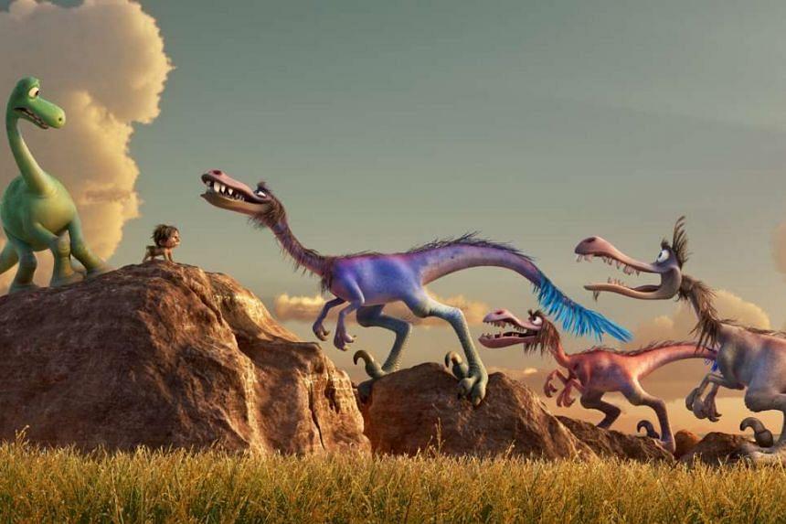 The Good Dinosaur.