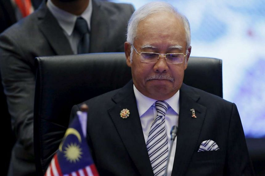 Malaysia's Prime Minister Najib Razak has been urged to resign from his position as party president.