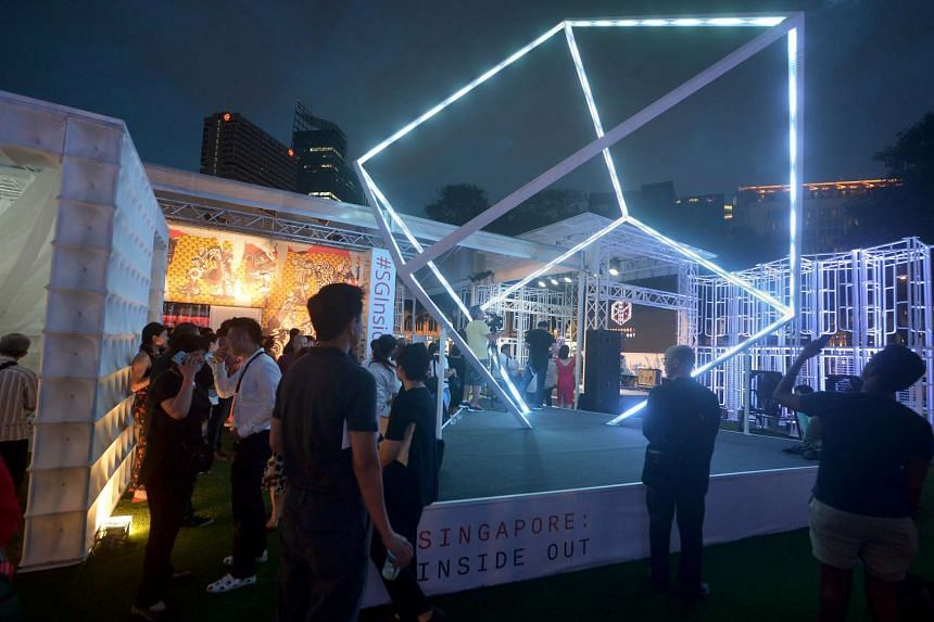 Opening Reception for the homecoming of Singapore: Inside Out.