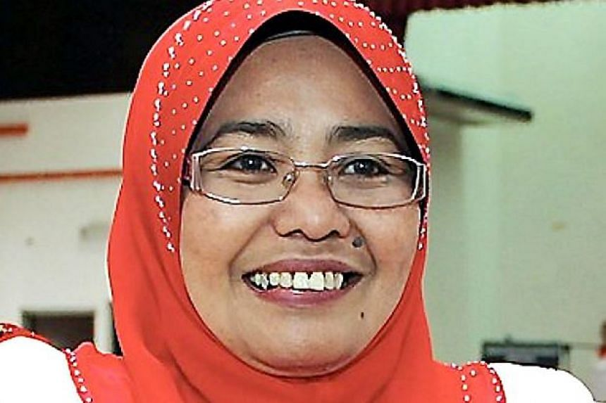 Umno's Women's wing chief Hamidah Osman (above) was sacked because she had crossed the line, said Malaysian Youth and Sports minister Khairy Jamaluddin.