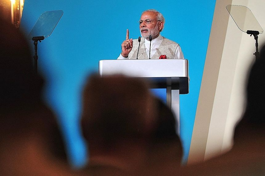 The talks are a chance for Mr Modi to claim his spot among the world's top statesmen by crafting a solution to one of the biggest risks facing humanity, and he is unlikely to pass that up.
