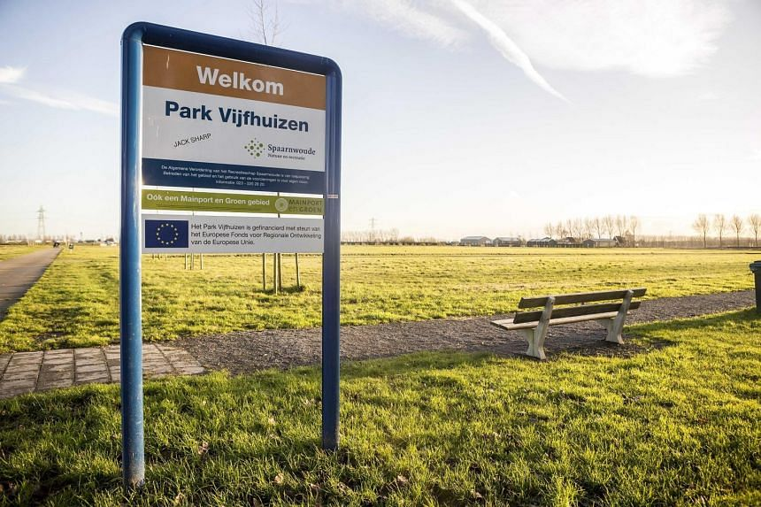 The national monument in memory of the victims of Flight MH17 will be located in Vijfhuizen, near Schiphol airport, in the Netherlands. All 298 people aboard the plane died when it was shot down while flying over eastern Ukraine on July 17 last year.