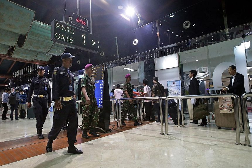 To counter the terrorist threat, Indonesia has tightened security at airports around the country, including Soekarno-Hatta International Airport, which serves the Greater Jakarta area.