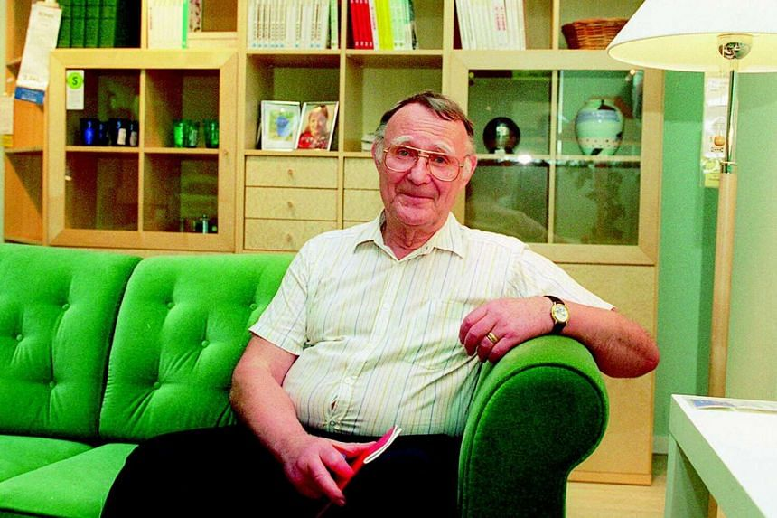 Topping the list for the 14th year in a row, was the family of Ikea founder Ingvar Kamprad (above).