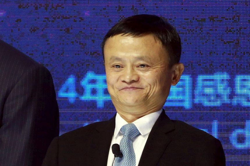 Mr Jack Ma stepped down as Alibaba CEO in 2013 and is now its chairman.