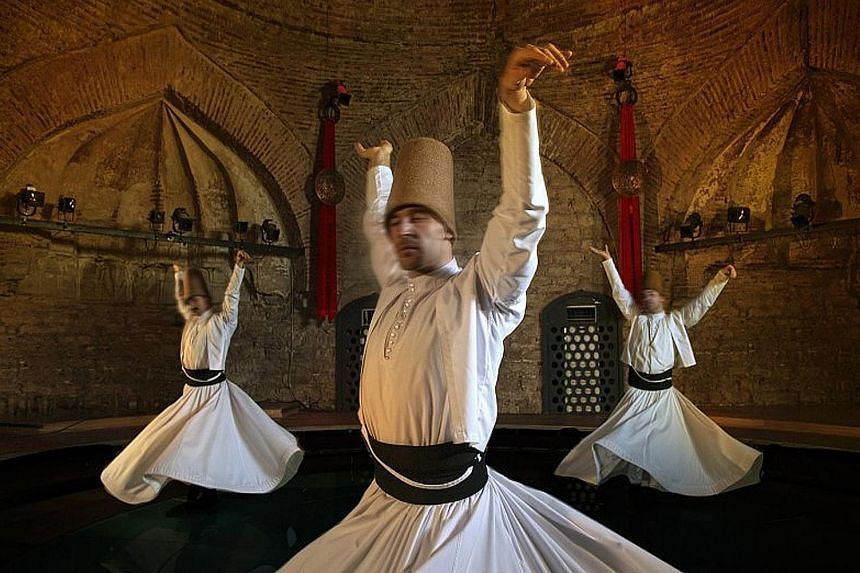 Watch The Whirling Dervishes (above) in action in Konya, Turkey, or attend the Hofburg Silvester Ball in Vienna.