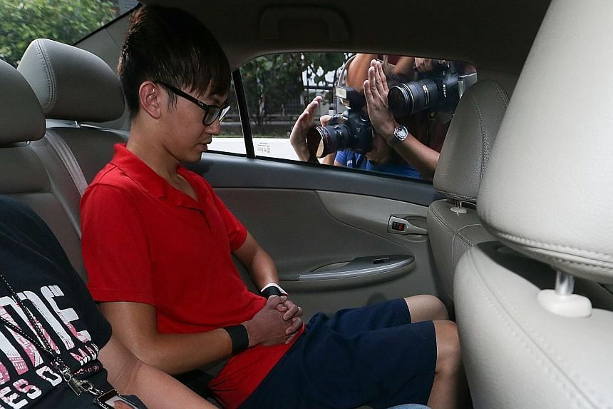 Neo Chun Zheng is accused of killing Ms Soh Yuan Lin outside his home on Thursday night. If convicted, the 26-year-old faces the death penalty.