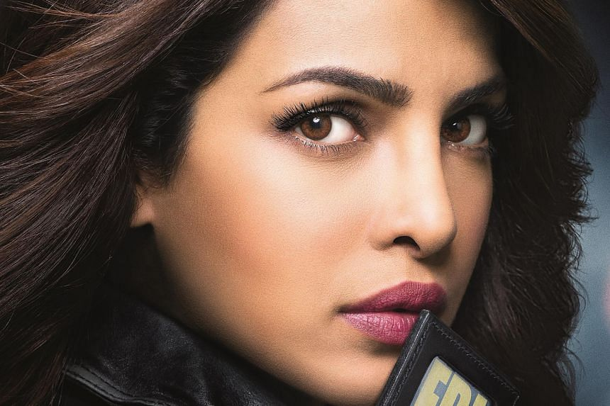 Asian actors who have been getting attention for their TV roles include Bollywood star Priyanka Chopra (top), who is in Quantico, and Aziz Ansari (above), star of the critically acclaimed Master Of None. The hit sitcom Fresh Off The Boat - which star