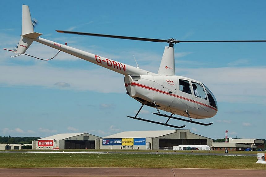 A Robinson R44 helicopter similar to the one that was stolen.