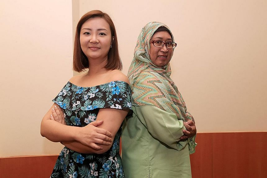 Ms Hazel Shen has been a foster parent since 2013. She currently takes care of two children - one three years old and the other, 15 months old. Madam Norlia Ali Marican, 50, has been a foster parent since 2003. She has taken care of five children in