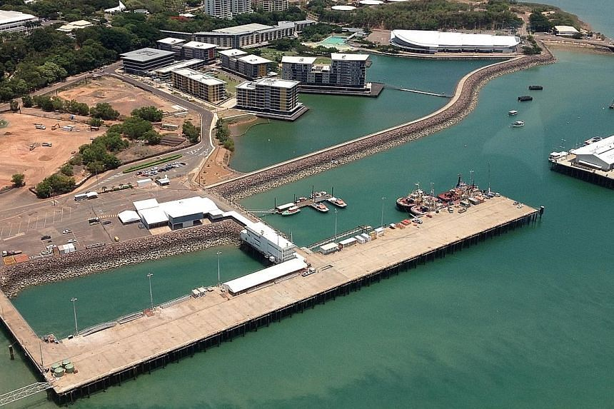 The plot of land in Darwin in the Northern Territory where the Australian government hopes to develop a luxury hotel.