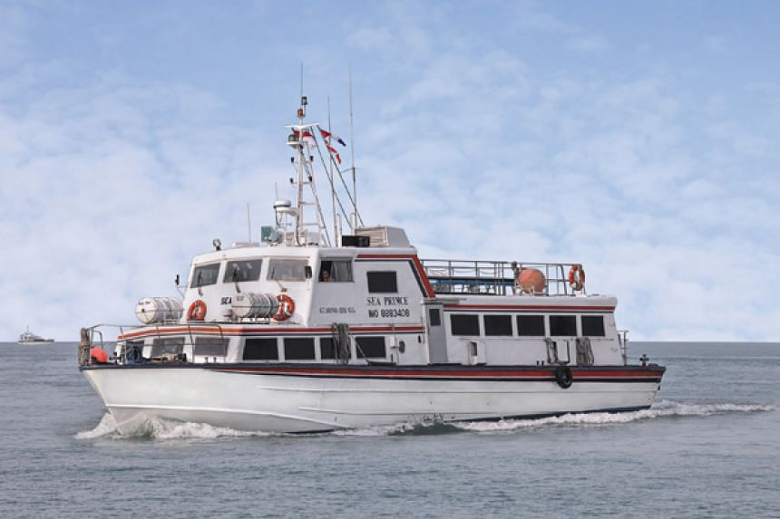 Indonesia-registered ferry, Sea Prince (pictured), had hit a floating object after leaving the Nongsapura ferry terminal in Batam.