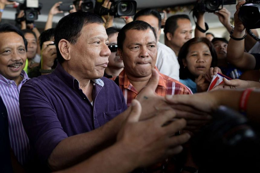 Catholic bishops in the Philippines lashed out at presidential candidate Rodrigo Duterte.