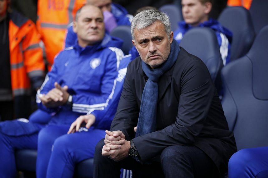 Chelsea manager Jose Mourinho before the match on Nov 29.