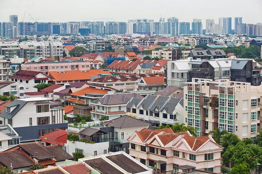 Private residential buildings in Kembangan.