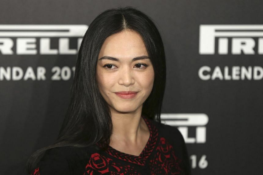 Chinese actress Yao Chen at the launch of the Pirelli Calendar 2016 in London on Nov 30.