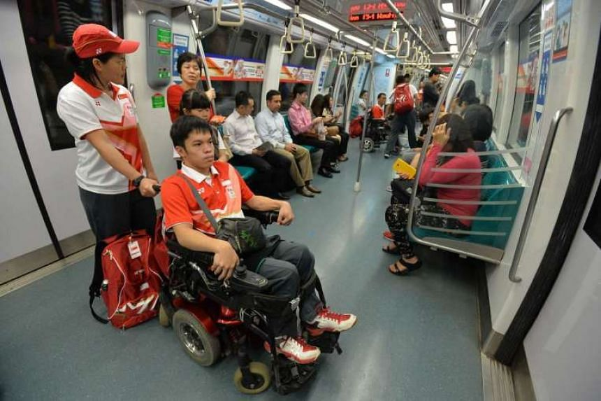 The journey from Stadium MRT took about 10 minutes or less.