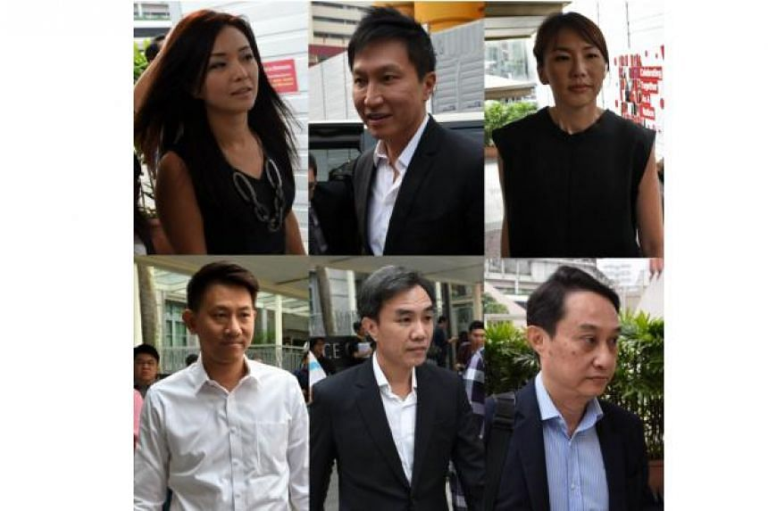 City Harvest Church (CHC) founder Kong Hee and five other church leaders filed notices of appeal on Wednesday (Dec 2).