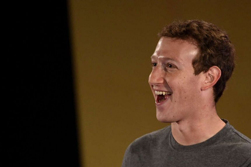 Facebook CEO Mark Zuckerberg speaking at the Indian Institute of Technology in New Delhi on Oct 28, 2015.
