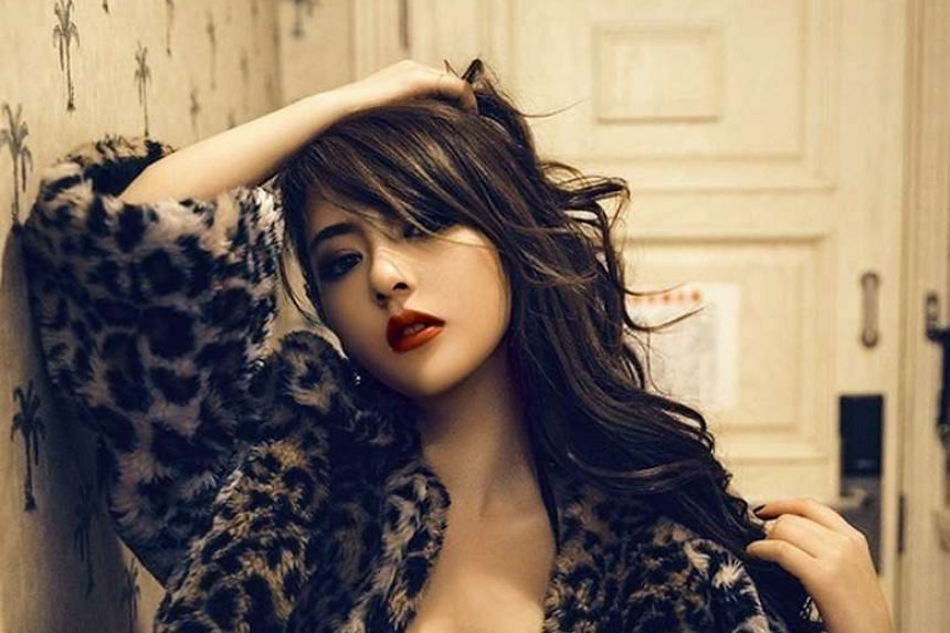 Model Moka Fang.