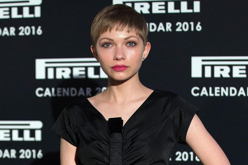 US writer, magazine editor, actress and singer Tavi Gevinson was photographed for the calendar.