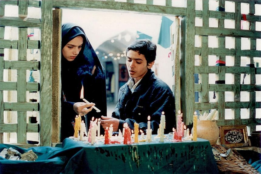 Films made by Mohsen Makhmalbaf include Gabbeh, The President and A Moment Of Innocence (above).