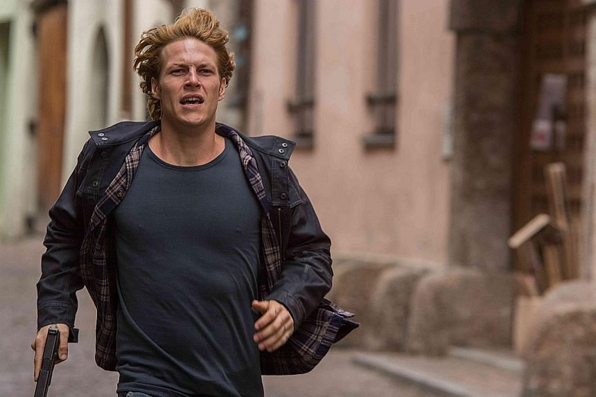 Actors Luke Bracey (above, in Point Break); Chris Hemsworth (in In The Heart Of The Sea); and Emma Watson and Ethan Hawke (in Regression) struggle to lift three sinking films.