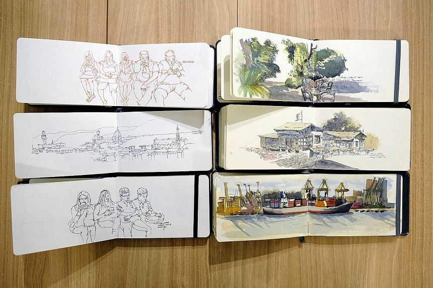 Mr Erwin Lian turned to crowdfunding to raise money to produce The Perfect Sketchbook. His second campaign on Indiegogo to create a B5 version of the sketchbook ended last week.