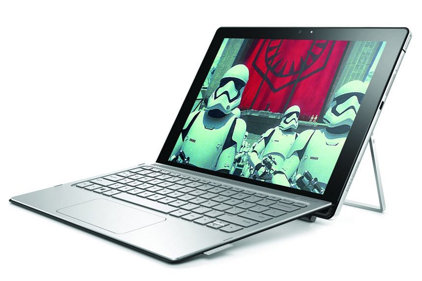 HP provides a free keyboard for the Spectre x2, but no stylus is included.