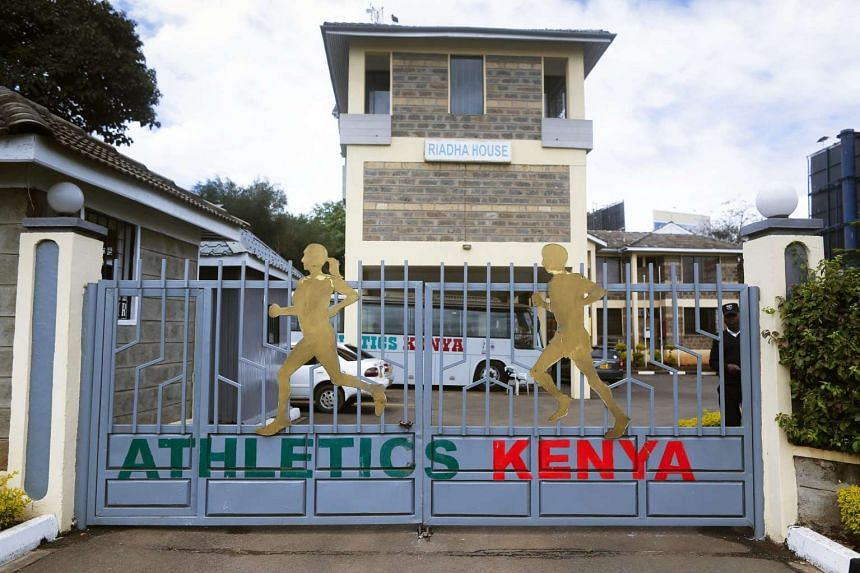 The Athletics Kenya headquarters in Nairobi, Kenya.