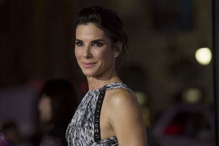 Sandra Bullock poses at the premiere of Our Brand Is Crisis in Hollywood in October.