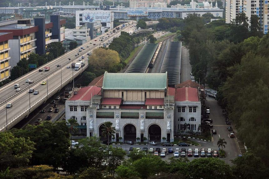 The Tanjong Pagar railway station was gazetted a national monument in 2011.