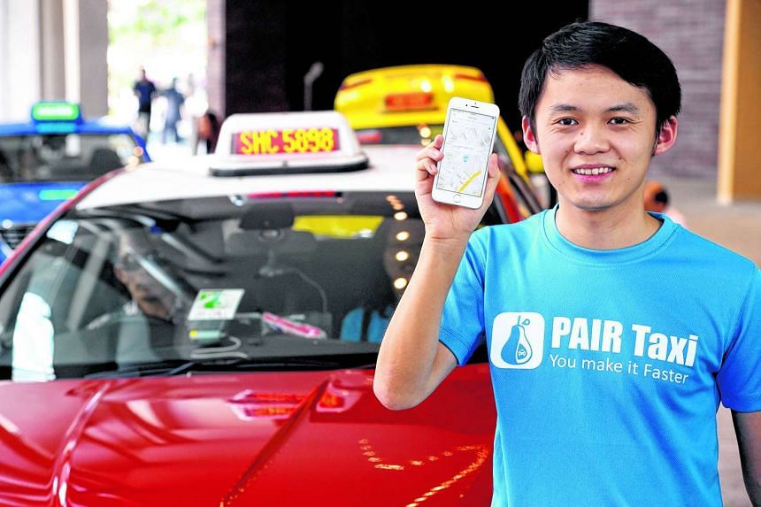 Pair Taxi founder Andy Zheng.