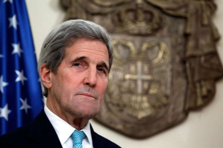 United States Secretary of State John Kerry warned that ISIS won't be defeated by airstrikes alone.
