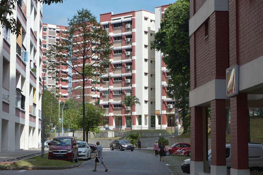 Blocks of HDB flats in Hougang Avenue 10.
