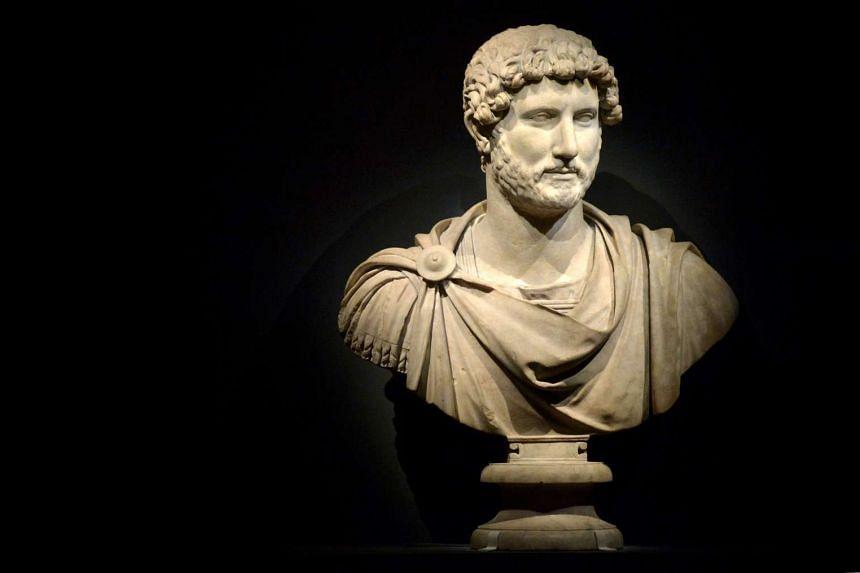 Bust of the emperor Hadrian.