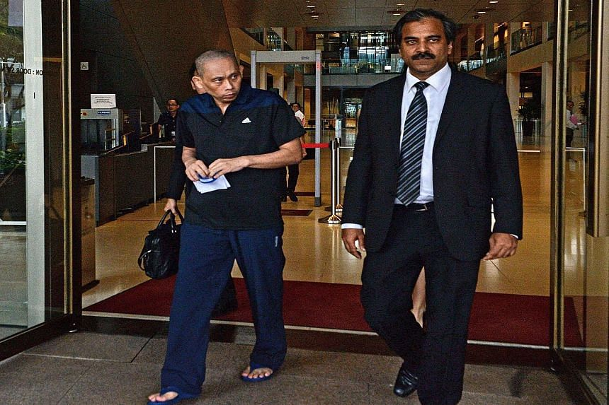 """Alleged match-fixing kingpin Dan Tan leaving the courthouse last week, after the Court of Appeal ordered his release. Described by Interpol as """"the leader of the world's most notorious match-fixing syndicate"""", he had been detained without trial for t"""