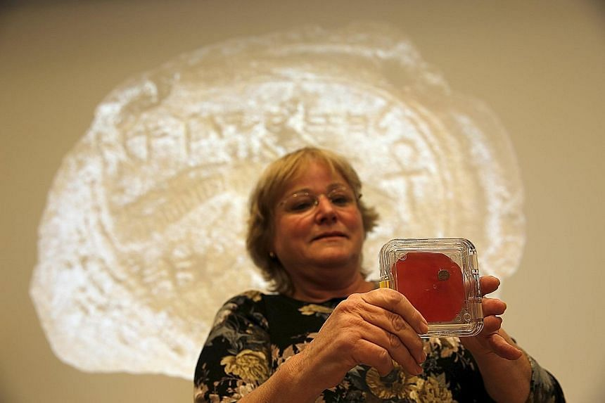 Israeli archaeologists have discovered a mark from the seal of biblical King Hezekiah, who helped build Jerusalem into an ancient metropolis. The circular inscription, on a piece of clay less than a centimeter long, may very well have been made by th