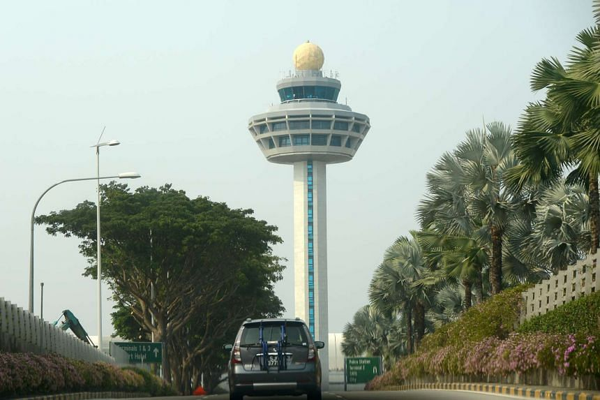 The Changi Airport control tower. Singapore's civil aviation authority has been monitoring Indonesian carriers that fly here closely since 2007.