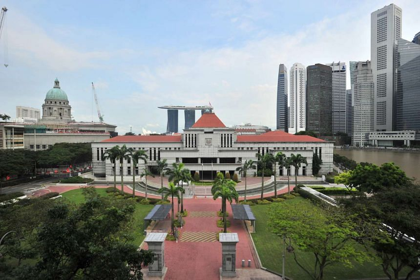 A view of the Parliament House.
