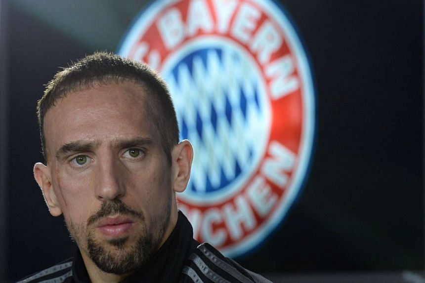 Ribery spent 264 days out with a persistent ankle injury he suffered on March 11.