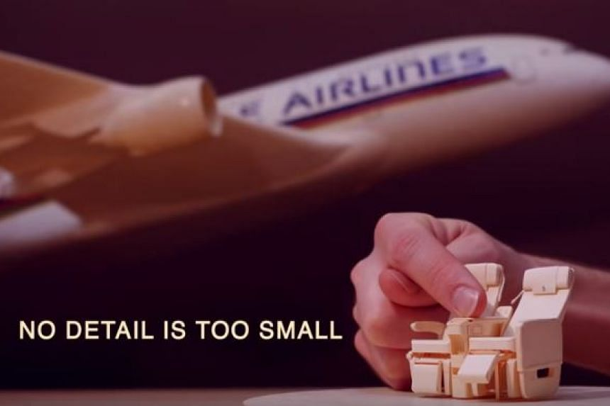 Singapore Airlines' latest promotional video features the work of US designer Luca Iaconi-Stewart.