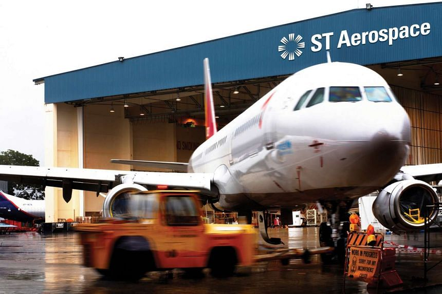 ST Aerospace at Seletar Aerospace Park.