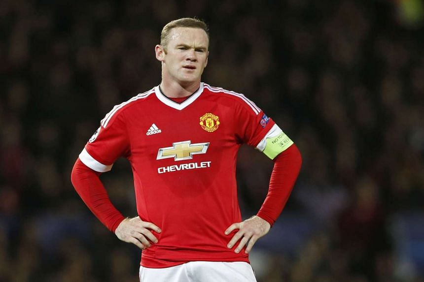Manchester United will be without captain Wayne Rooney for their match against West Ham United.