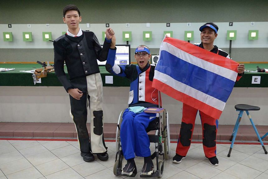 (Left to right) Ritchie Chan, Phirapong Buengbok and Mala Sihabandit on Dec 4, 2015.