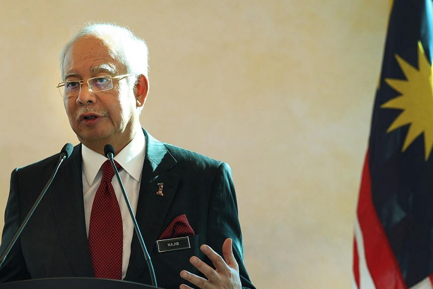 Najib Razak, Malaysia's prime minister, gestures whilst speaking during a news conference in Kuala Lumpur, Malaysia, on Nov 23.