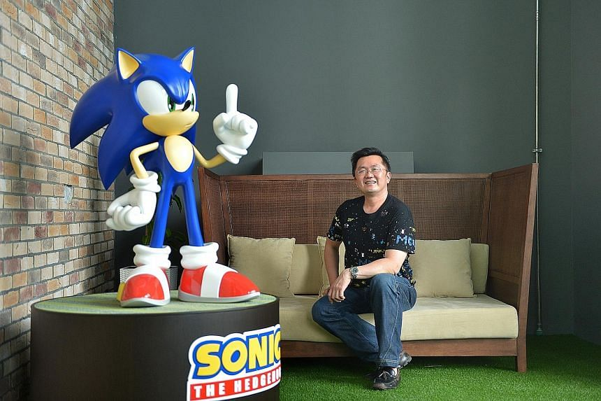 Mr David Ng (above), founder of goGame, sees Sega's investment as more than just a financial boost. He also hopes to tap the expertise and networks that Sega has built to make goGame the biggest gamer network in the world.