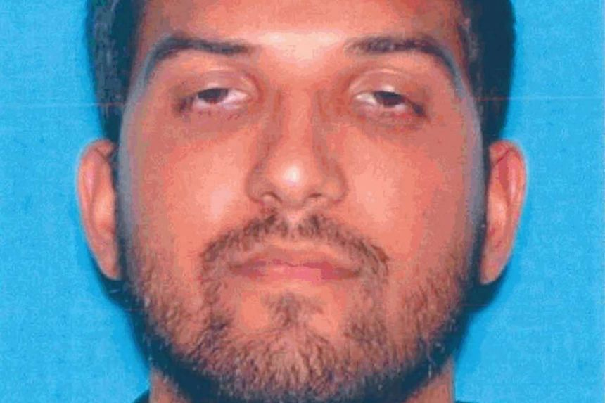 Syed Rizwan Farook is pictured in his California driver's licence, in this undated handout provided by the California Department of Motor Vehicles on Dec 3.