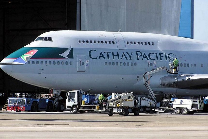 The 64-year-old woman had taken the life jacket while on a Cathay Pacific flight from Taipei to Hong Kong.
